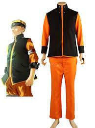 Naruto Halloween Costume Naruto Uzumaki Naruto Halloween Cosplay Costume Color Block