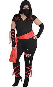 Van Helsing Halloween Costume Ninja Assassin Costume Black Costumes Sized Cutie
