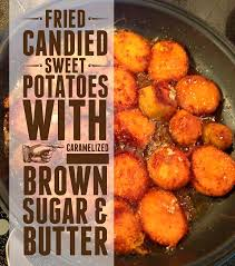 dishfunctional designs fried candied sweet potatoes with