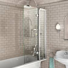 burlington bath screen with access panel 850 x 1450mm bu44 at