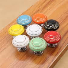 cheap dresser knobs astonishing artistic design assorted colourful