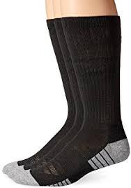 Under Armour Football Socks Amazon Com Under Armour Men U0027s Heatgear Crew Socks Pack Of Three