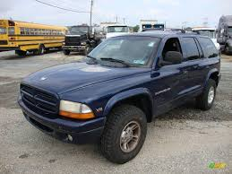 1999 dodge durango 4x4 1999 patriot blue pearlcoat dodge durango slt 4x4 18624847