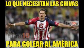 facebook chivas vs américa los mejores memes del empate del