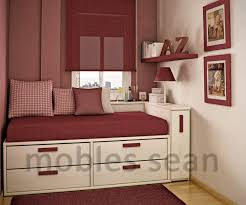 white red bedding small bedroom design ideas grey cream color