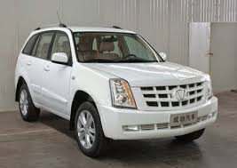 cadillac escalade 10000 cadillac escalade escalade ext copied in china sold as victory