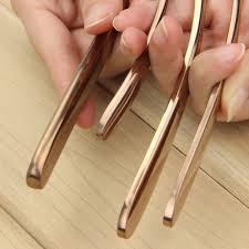 online shop rose gold flatware cutlery set rose gold plating