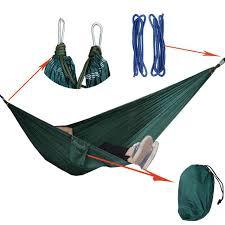 portable double person parachute hammock swing indoor outdoor