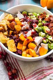 thanksgiving cobb salad the in the kitchen