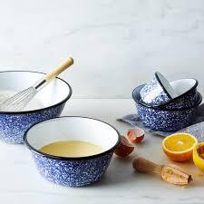 porcelain enamelware nesting bowls sets of 5 on food52