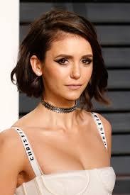 icymi nina dobrev debuted a new haircut at the 2017 oscars glamour