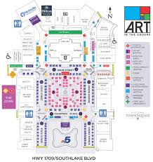 Dallas Convention Center Map by Art In The Square