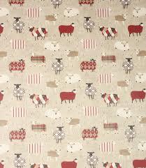 Kitchen Curtain Fabric by Pvc Baa Baa Fabric Peony Modern Country Kitchens Modern