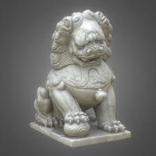 foo lion statue 8k guardian lions foo model