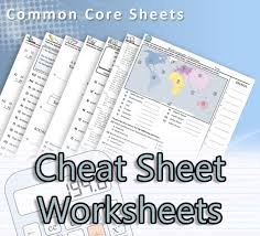 common core sheets a great resource for math science language