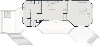 what is a split floor plan deluxe beachfront bure yasawa island resort u0026 spa