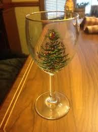 spode glassware stem gold wine glass tree 12 oz ebay