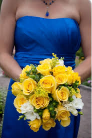 wedding flowers cities royal blue and yellow weddings search wedding ideas
