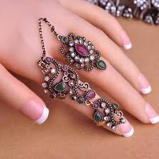 large finger rings images Rings hooplahop jpg