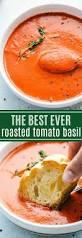 best 25 roasted tomato basil soup ideas on pinterest roasted