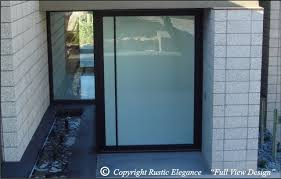 Frosted Glass Exterior Door Appealing Frosted Glass Designs For Front Doors Images Ideas