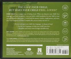 the five love languages of children cd gary chapman ross