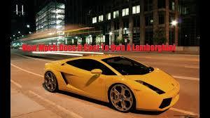 how much does the lamborghini gallardo cost how much does a lamborghini cost in