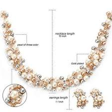 wedding jewelry necklace sets images China wedding jewelry sets pearl bridal necklace sets for women jpg