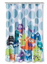 Bathroom Sets Shower Curtain Rugs by Circo Monsters Bath Set Shower Curtain Cotton Rug Trash Waste