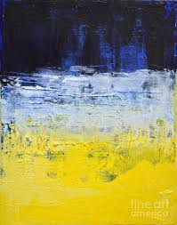 blue and white painting mind blue yellow white abstract by chakramoon painting by belinda