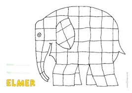 Elmer Colouring Sheet U2013 Free Teaching Resource Scholastic