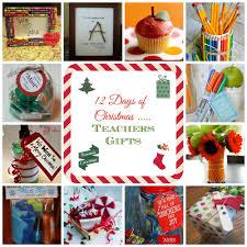 12 days of christmas teacher gift ideas donnahup com