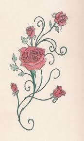 rose tattoo vine danielhuscroft com