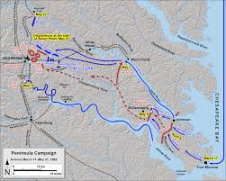 Map Of Williamsburg Va Also On This Day In American Civil War History May 5 1862 The