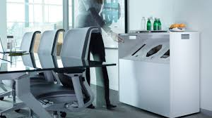 Recycling Office Furniture by Victor2 Upscale Recycle Bin Steelcase