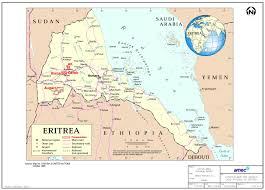 Eritrea Map Filed By Filing Services Canada Inc 403 717 3898