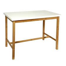 hauteur standard table de cuisine hauteur table haute cuisine mange debout table haute blanche et