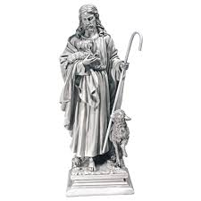 design toscano jesus the good shepherd garden statue walmart com