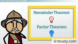 remainder theorem u0026 factor theorem definition u0026 examples video