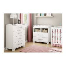 Detachable Changing Table Changing Table With Removable Changing Station In White