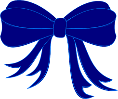 ribbon and bows blue bow ribbon clip at clker vector clip online