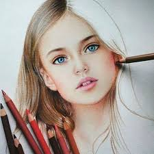 colored pencil piece by marat art tag and share if you love art