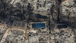 California Wildfire Database by Death Toll Rises To 21 As Northern California Fires Spread Fire