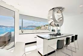 Kitchen Island Stove Top Bedroom White Wall Therefore Looks Very Clean And Fresh In