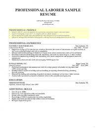 resume for laborer laborer resume sample free resume what is