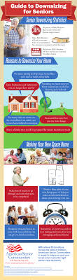 downsizing tips downsizing tips for seniors infographic asc