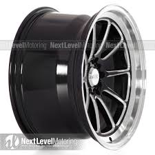 black subaru rims xxr wheels 557 18x10 gloss black milled rims