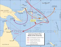 Coral Reefs Of The World Map by The Battle Of The Coral Sea
