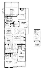 luxury home plans for narrow lots 84 best narrow houseplans images on floor plans