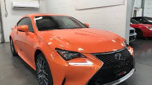 lexus rc awd price 2015 lexus rc 350 sold sold sold f sport awd solar flare orange
